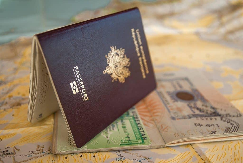 דרכון אירופאי על ויזה